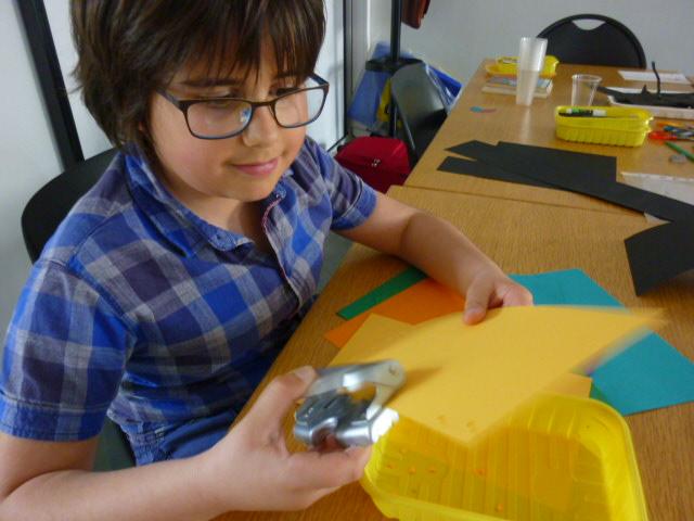 Toutes les compétences sont requises, y compris faire des confettis !
