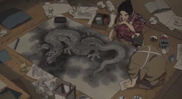 Miss Hokusai de Keiichi Hara, 2/09/15