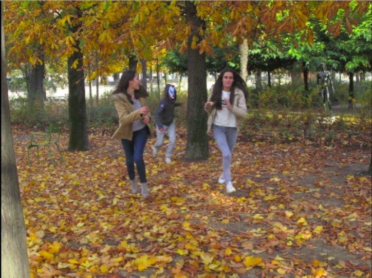 Sans titre : l'horreur a rendez-vous aux jardins des Tuileries ...