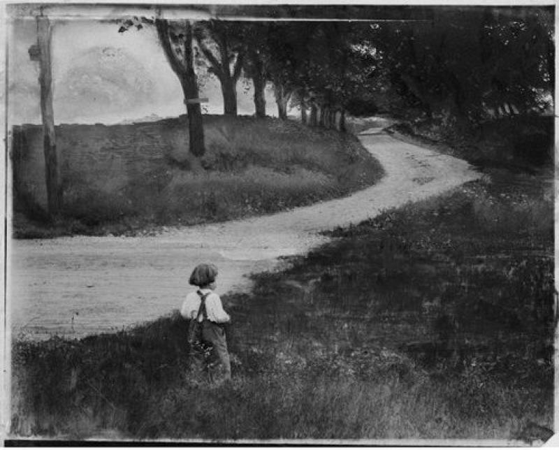 La route vers Rome de Gertrude Käsebier, 1902