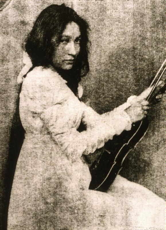 Zitkala Sa de Gertrude Käsebier, vers 1898