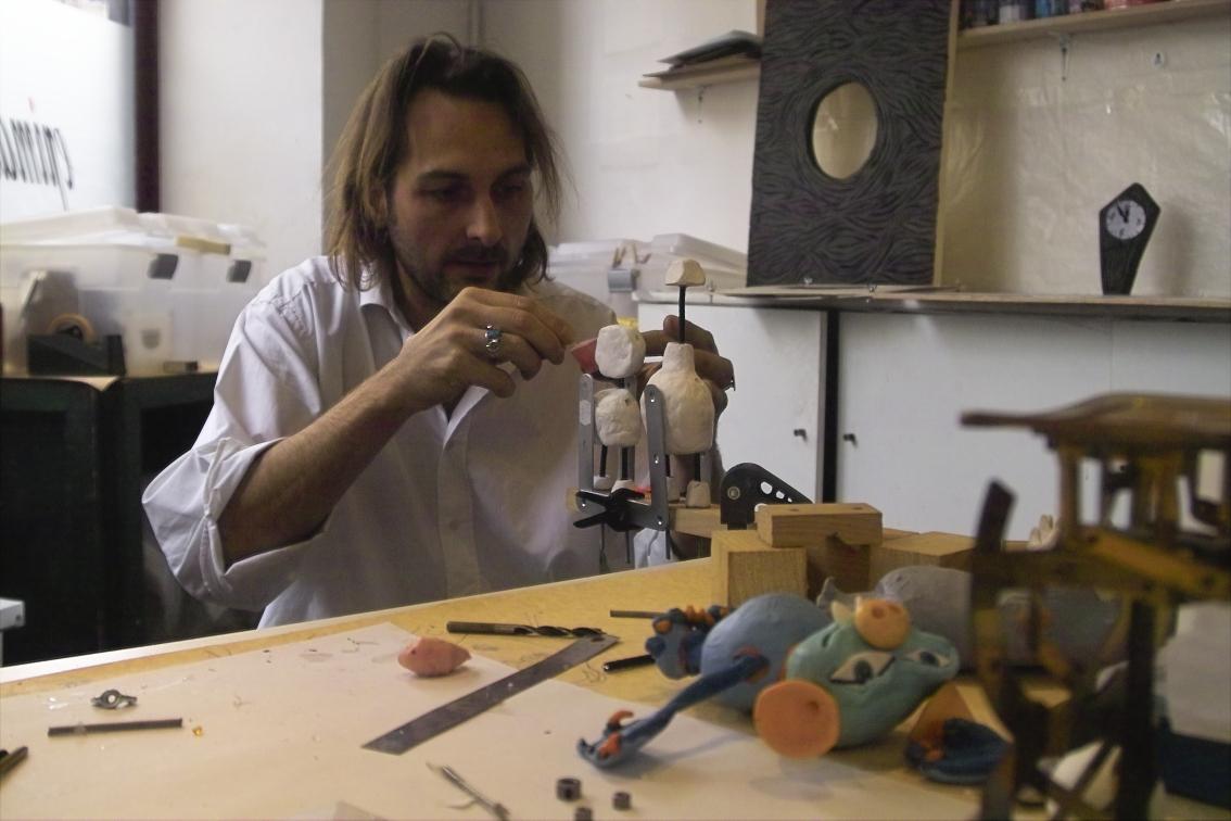Florian Duval en plein travail !