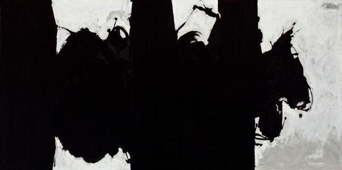 Elégie à la République espagnole de Robert Motherwell, 1976