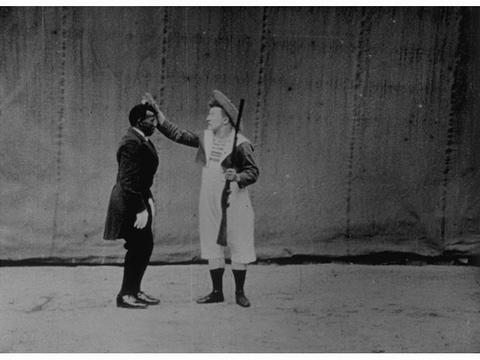 Footit et Chocolat, Vue n°1141 des Frères Lumières, 1900