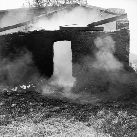Maison en ruines, Tlaxcala, 1955, de Juan Rulfo