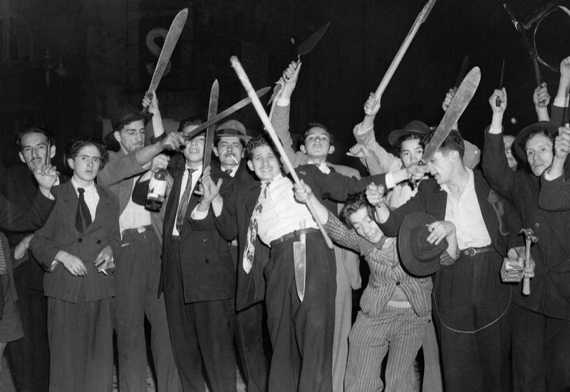 Bogotá, archive photographique de Sady González, avril 1948