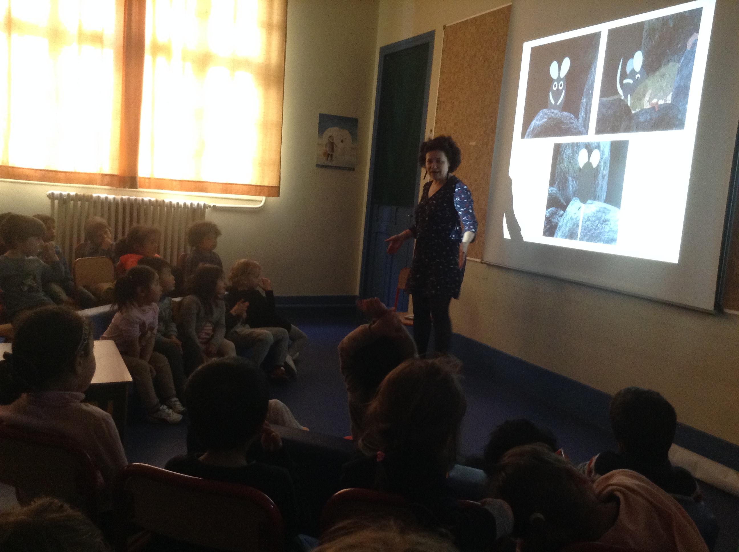 La classe de MS de Maya Forbin et les élèves de Camille