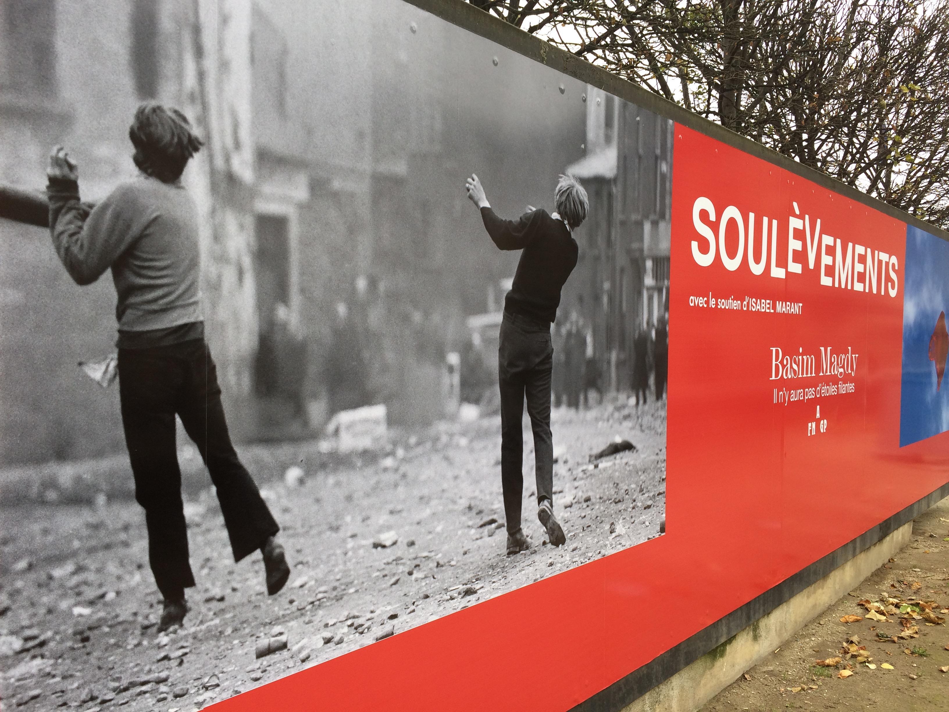 """""""Soulèvements"""" , Georges Didi-Huberman, du 18 octobre 2016 au 15 janvier 2017"""