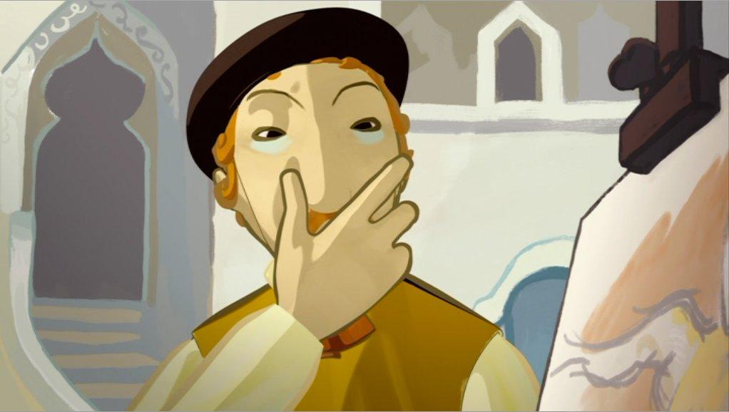 Pourquoi le masque du peintre est-il identique à son visage ?
