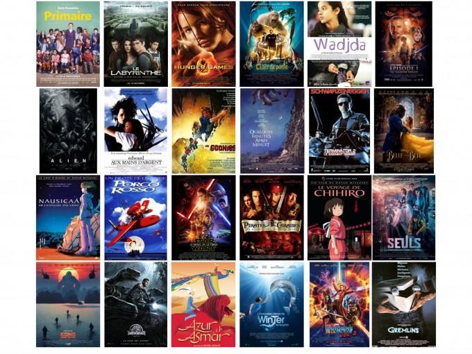 Les films qui ont le plus marqué les élèves de la classe de CM1/CM2 de Sophie, Paris 9