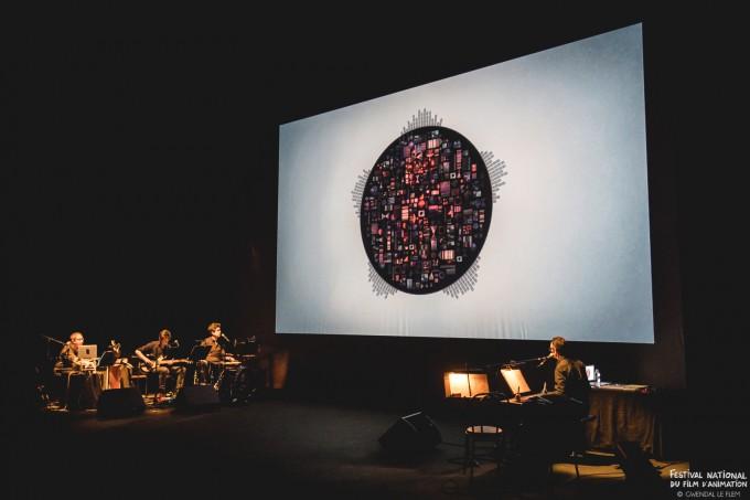 """Ciné-concert """"En sortant de l'école"""", 26 avril 2017, Grand Logis de Bruz"""