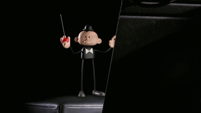"""Le """"Petit Homme"""" chef d'orchestre..."""