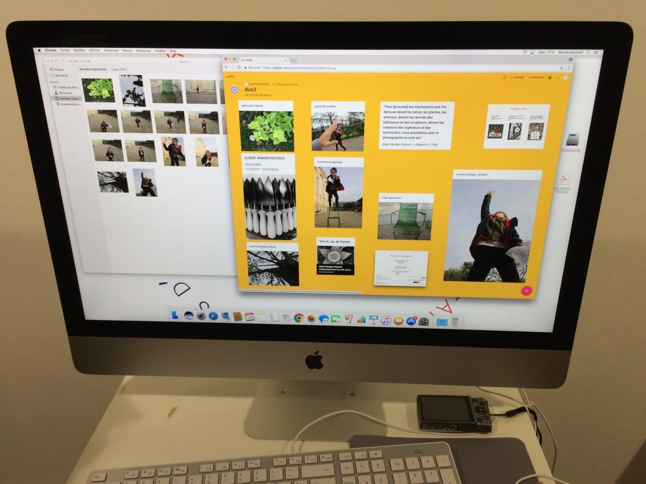Composer un portfolio numérique en ligne