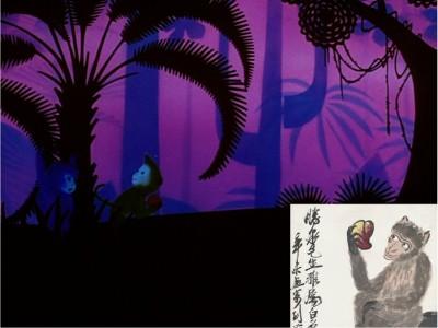 """""""Les singes qui veulent attraper la lune"""" de Zhou Keqin (1981)"""